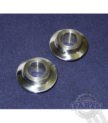 86-87 Tecate 3 Stainless Front Axle Spacers